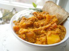 Tandoori Spiced Sweet Potato & Lentil Curry