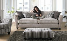 Fabric Sofas and Fabric Corner Sofa Ranges - CSL Sofa Shops UK