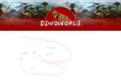 Dino World   dinoworld   dinosaurus   dino   dinos   winkel   aanbieding   feest   feestartikelen   feesttraktaties   traktaties   slaapkamer   behang   diplophosaurus   platvoet   kinderfeestjes