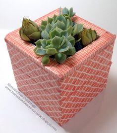 Smoothfoam succulent planter