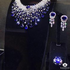A spectacular display of exquisite Sapphire collection now available in our showroom by appointment only #KarenSuenFineJewellery