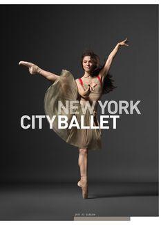 NYCB 2011-12 by Christine Navin, via Behance