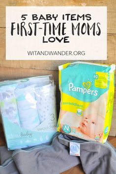 From swaddle blankets to sleeping solutions, diapers to baby carriers, here are 5 Baby Items First-Time Moms Love! From Wit & Wander and @walmart #WalmartBaby #IC (ad)