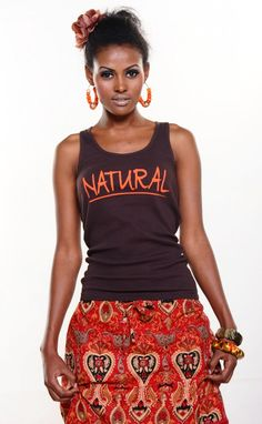 Kinky Tees Clothing Company, Online Boutique - NATURAL, $22.00 (http://www.kinky-tees.com/products/natural.html)
