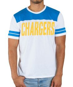 Sideline Stripe San Diego Chargers T-Shirt: This soft and comfortable Sideline Stripe San Diego Chargers… #TShirts #CustomShirts #BandTees