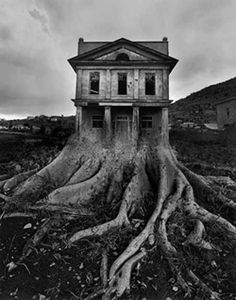 Jerry uelsmann; Amazing photographer & creative genius. Way ahead of his time as he used old school method.