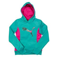 Christmas 2016 gift for our beautiful granddaughter.  PUMA Hoodie. Sweet Pea. Size6x