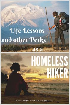 Appalachian Trail hiker learns life lessons as homeless hiker