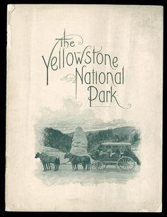 This Day in History: Mar 1, 1872: Yellowstone Park established http://dingeengoete.blogspot.com/ http://www.environmentandsociety.org/sites/default/files/styles/popup/public/39_yellowstone_national_park_1900.jpg