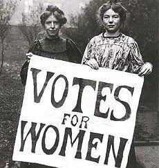 ellas fueron las primeras para que nosotras pudiéramos votar!!!