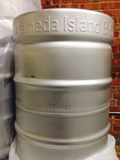 The kegs have arrived.