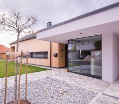 Haus ACB Bungalows, Interior Architecture, Modern, Garage Doors, Flooring, Outdoor Decor, Design, Home Decor, Human Settlement