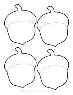 Best 12 Use Acorns - add cheerios to top part Autumn Crafts, Fall Crafts For Kids, Thanksgiving Crafts, Fall Patterns, Craft Patterns, Pumpkin Patterns, Fall Preschool, Preschool Crafts, Fall Leaf Template