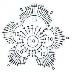 ирландское вязание крючком схемы - Pesquisa Google