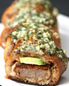 Milanesa-Stuffed Garlic Bread