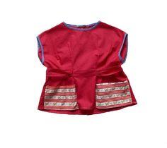 VINTAGE 50/60's / kids / blouse / tunic / by Prettytidyvintage, €25.00
