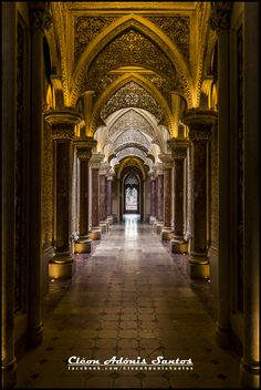 Monserrate Palace in Sintra by Cleon Santos
