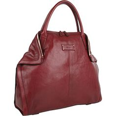 Oxblood #McQueen day bag.
