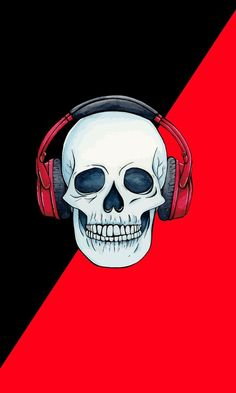 Skull Wallpaper Iphone, Music Wallpaper, Wallpaper Backgrounds, Beige Paint Colors, Skull Artwork, Dark Art Drawings, Joker Art, Animal Bones, Hd Wallpapers For Mobile