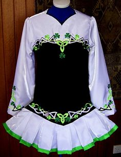 Mary Skotnicki Irish Dance Solo Dress Costume