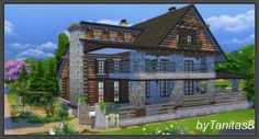 CHALET by Tanitas8 at Ladesire via Sims 4 Updates