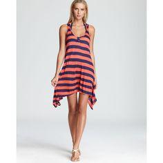 b449f51140bbf Splendid Marcel Stripe Swimsuit Cover Up Women - Swimsuits & Cover-Ups -  Bloomingdale's