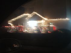PT DEC 2014 NAMPA IDAHO VERY OUT OF FOCUS CHRISTMAS LIGHTS