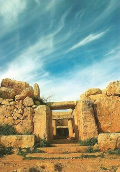 Megalithic Temples of Malta, one of the oldest structures in the world