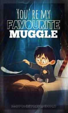 You're my favourite Muggle//Harry Potter, fondo de pantalla// Eres mi Muggle favorito