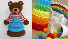 Stacking Toys [Crochet Patterns and Free Crochet Patterns] | Your Crochet