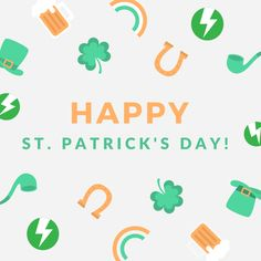 """""""The harder you work, the luckier you get."""" Leave the hard work until tomorrow though...it's St. Patrick's Day. #HappyStPatricksDay"""