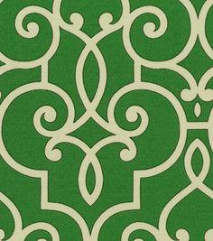 Home Decor Outdoor Canvas: @HGTV HOME Treillage Jade #outdoor #fabric