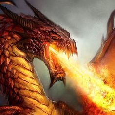 """Dragon Throwing Hot FlambleLiquid Fire And Heat!""""Dragon Breath""""…Guardian Of The DarknessOf The Underground. Dragon Images, Dragon Pictures, Dragon Pics, Dragon Book, Fantasy Creatures, Mythical Creatures, Dragon Medieval, Apps Für Android, Fire Breathing Dragon"""