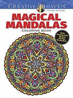 Creative Haven Magical Mandalas Coloring Book: By the Illustrator of the Mystical Mandala Coloring Book (Creative Haven Coloring Books) by Alberta Hutchinson http://www.amazon.com/dp/0486799875/ref=cm_sw_r_pi_dp_t4gCvb1HTV718