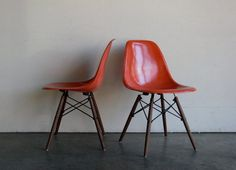 Eames for Herman Miller Dowel Base Side ChairDSW Set of 2 by CoMod, $599.00