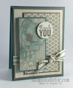 Timeless Elegance Designer Paper #stampinup www.stampstodiefor.com
