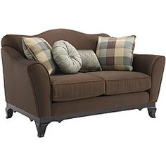 cute sofa - traditional details but looks cozy