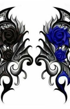 Latest hacks for small dragon tattoos. You might find more cost-effective options should you request being wear an on-call list to save money. Tribal Rose Tattoos, Goth Tattoo, Blue Rose Tattoos, Bff Tattoos, Flower Tattoos, Body Art Tattoos, Cool Tattoos, Black Heart Tattoos, Japanese Dragon Tattoo Meaning