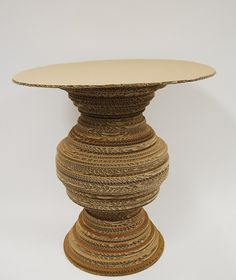 Cardboard Table by Xochitl Manktelow