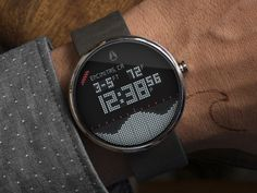 Android Wear - Nixon Digital Tide Surf App