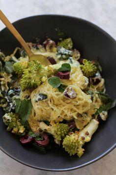 Recipe Box: Creamy Truffle Pasta with Roasted Romanesco | Vidya Living