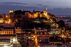 Castelo de São Jorge, Lisboa | Tozé Fonseca, Lisbon, Portugal