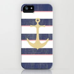 Anchor Away iPhone Case by Luly Lauredo - $35.00