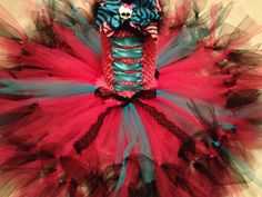 Monster high tutu dress pettiskirt