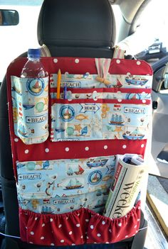 Car Organiser SEWING PATTERN by OwlandSewingCat on Etsy, £7.99