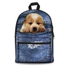 Kids & Baby's Bags Pet Dog Zoo Backpack For Teenagers Girls Boys School Bags 16 Inch Robot Kids Baby Bags Leisure Laptop Mochila Kindergarten Bag