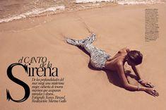 Juju Ivanyuk | Koray Birand | Vogue Spain June 2012 | 'El Canto de laSirena' - 3 Sensual Fashion Editorials | Art Exhibits - Anne of Carversville Women's News