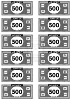 384 Best Monopoly Money Images