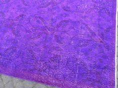 3.9x6.7 Ft 115x200 cm Purple Lavender Color by WeMakeRugs