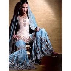 Amazing Indian bridal gharara suit perfect wedding & reception